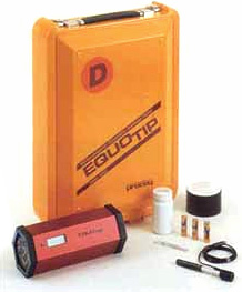 Portable dynamic hardness tester: Equotip