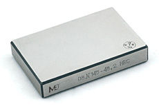Reference hardness test blocks MTR-MET (Rockwell) and MTSR-MET (Superficial Rockwell)